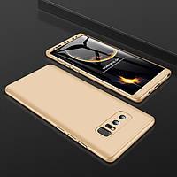 Чехол GKK 360 для Samsung Galaxy Note 8 / N950 оригинальный бампер Gold
