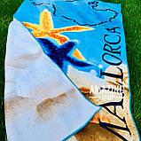 Пляжное полотенце   Пляжный плед   Пляжный коврик    Размер 146*72  см., фото 2