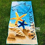 Пляжное полотенце   Пляжный плед   Пляжный коврик    Размер 146*72  см., фото 3