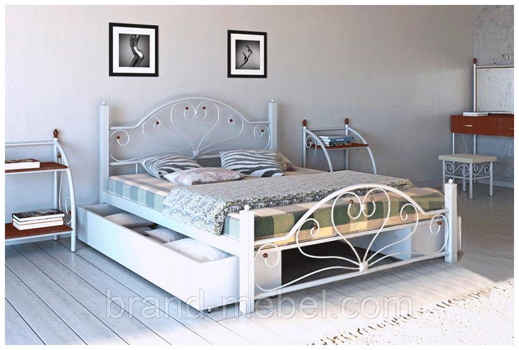 Ліжко металеве Джоконда /Кровать металлическая Джоконда