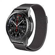 Ремешок Fitness для Samsung Gear S3 Frontier Milanese Black (437791)