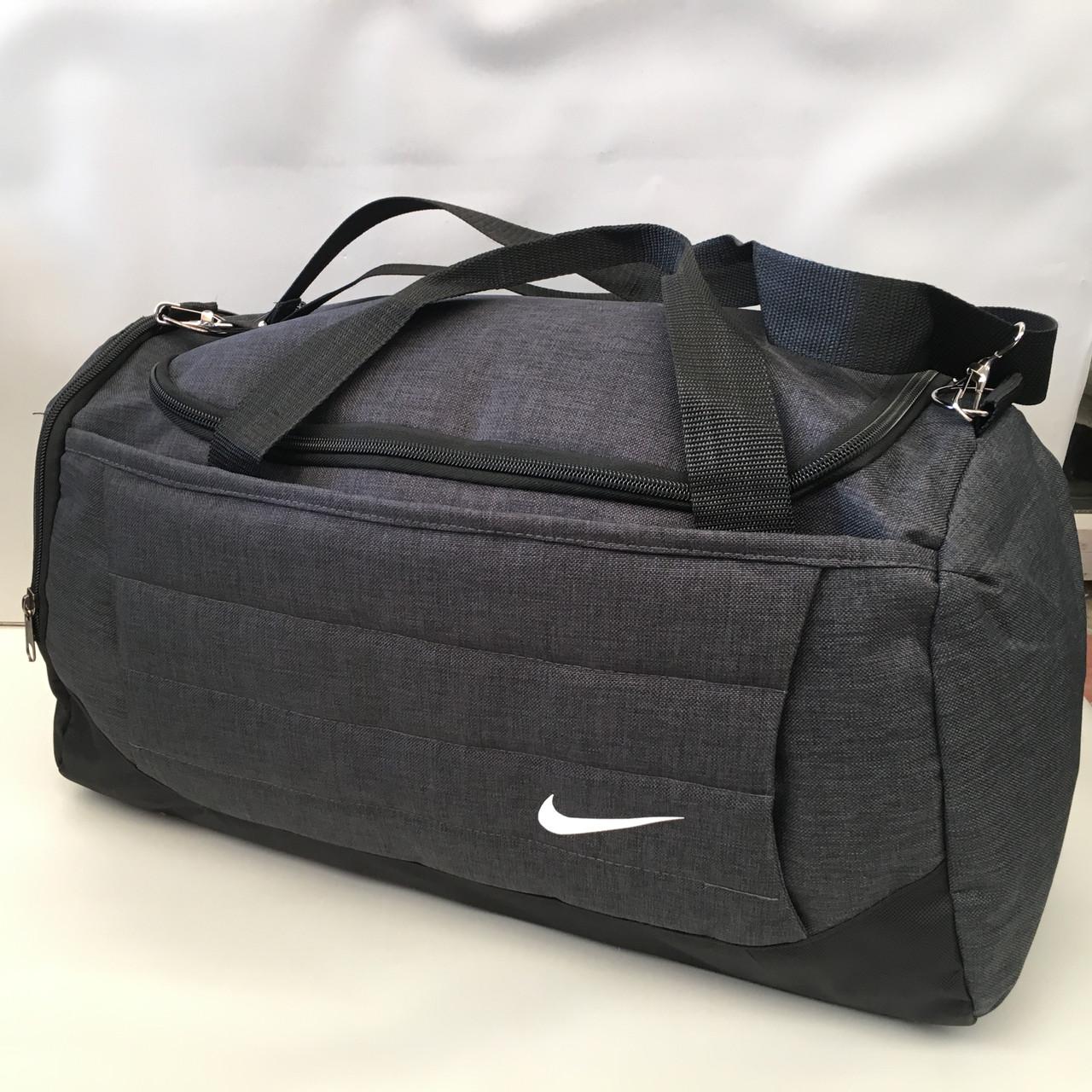 bb324bc4 Сумка спортивная Nike Текстиль Высококлассные/Спортивная- дорожная сумка с  нашивкой (Nike) оптом