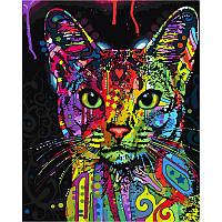 Картина по номерам Абиссинская кошка GX9868