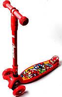Самокат детский ScooTer Maxi ST60 Marvel Avengers Складная ручка