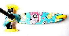 Самокат детский Best ScooTer Mini Cool Cat (Разноцветный) - Самокаты, фото 3