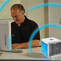 Мобильный мини кондиционер Artic Air охладитель увлажнитель воздуха компактный портативный от usb, фото 3