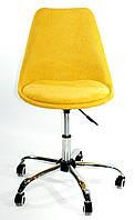 Кресло мастера Milan Шенилл, желтый
