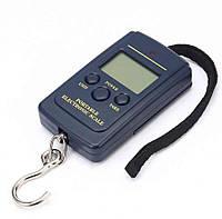 Весы электронные, кантер до 40 кг (шаг 10г) с батарейками