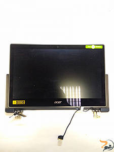 """Матриця з поворотними шарнірами, петлями, шлейфом, сенсорним склом та кришкою в зборі для ноутбука Acer Aspire R13, 13.3"""", 1920х1080p, Б/У"""