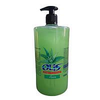Жидкое косметическое мыло «Алоэ» (С дозатором) -Olis 1000мл
