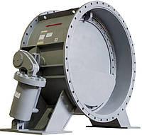 Клапан обратный 19с20р Ду2000 Ру2.5 поворотный с гидроприводом