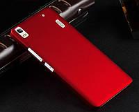 Пластиковый чехол для Lenovo A7000 бордовый, фото 1