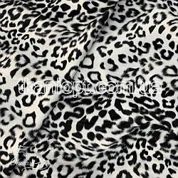 Ткань Мех звери (белый леопард)