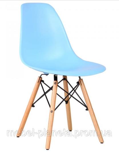 Стул пластиковый Nik голубой 50 Onder Metal