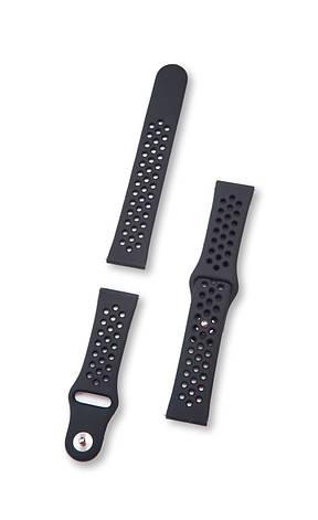 Ремешок BeWatch для смарт-часов Xiaomi Amazfit Pace/Stratos Черный (10201011), фото 2