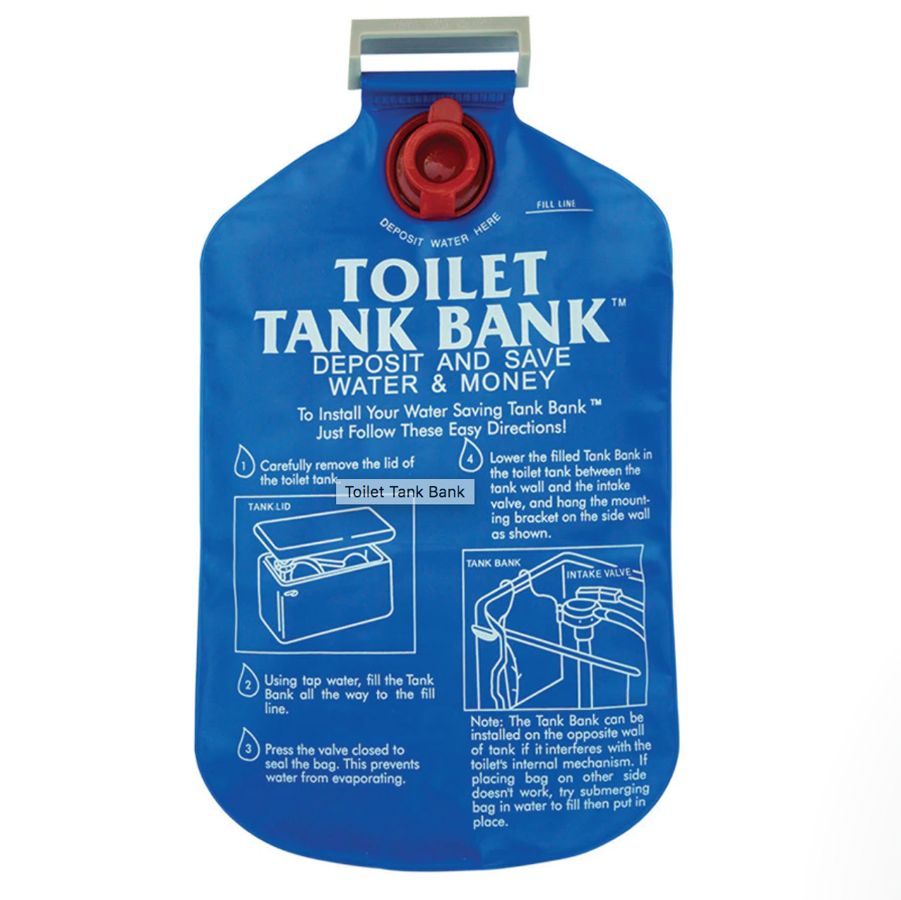 🚽Устройство для туалетного бачка унитаза DROP WC-BANK (экономия до 3 литров при смывании)