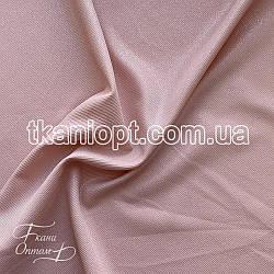 Ткань Рубашечный Софт-диагональ блестящий (пудра)