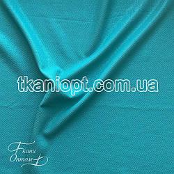 Ткань Рубашечный Софт-диагональ блестящий (яркая мята)