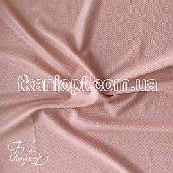 Ткань Рубашечный Софт-диагональ блестящий (персик)