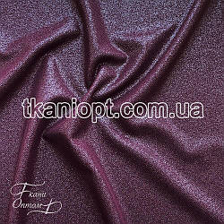 Ткань Рубашечный Софт-диагональ блестящий (марсала)