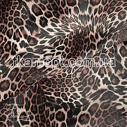 Ткань Кожзам леопард