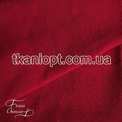 Ткань Довяз акрил красный