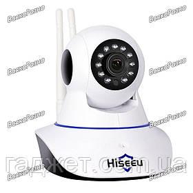 Wi-Fi IP камера Hiseeu с 2 антеннами.Беспроводная IP камера с WIFI HD Hiseeu
