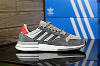 Мужские кроссовки Adidas ZX 500 Grey