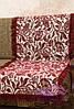 Комплект покрывал Лилия на диван и кресла. Цвет - бордо