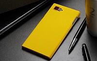 Пластиковый чехол для Lenovo Vibe Z2 PRO K920 жёлтый