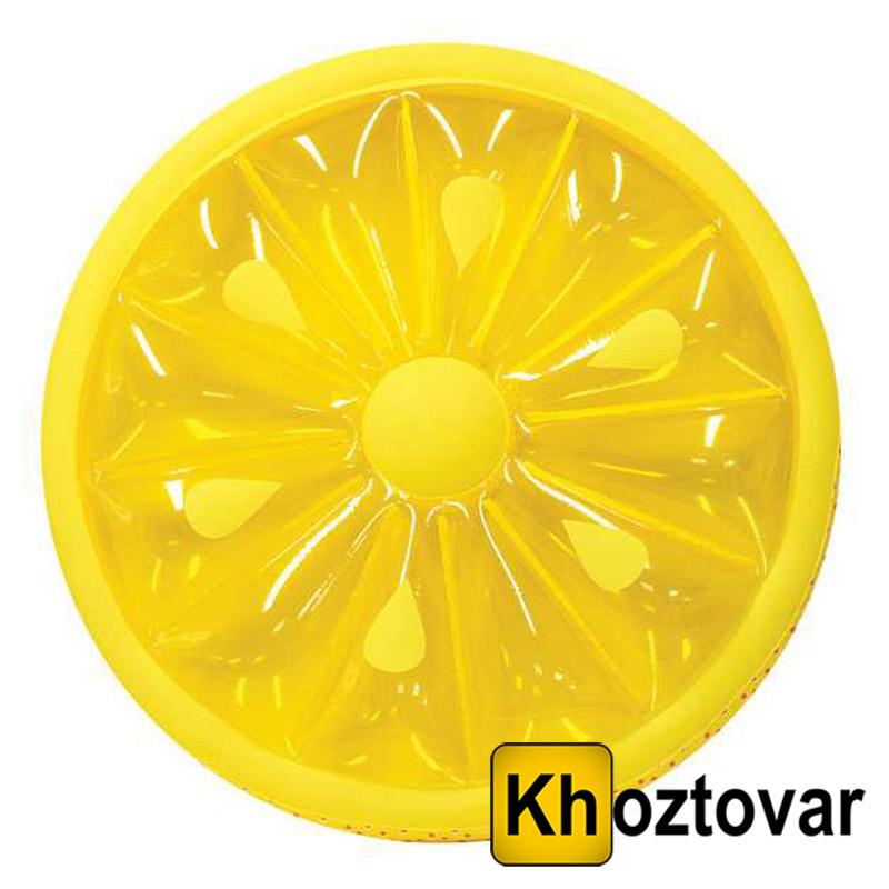 """Надувной матрас """"Лимон"""" Relaxing Citrus Pool Float"""