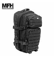 Тактичний рюкзак MFH US Assault I 30 л чорний, фото 1
