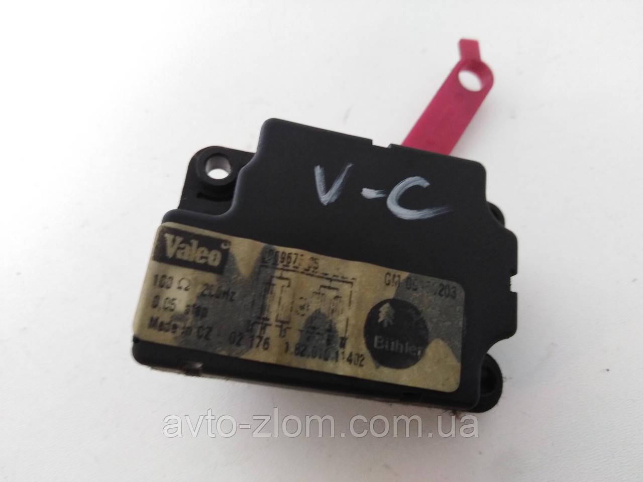 Моторчик, привод заслонки печки Opel Vectra C, Опель Вектра Ц. 09180203.