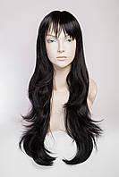 Длинный волнистый парик №4 Цвет черный