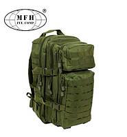 """Тактический рюкзак MFH US Assault I """"Basic"""" 30 л олива, фото 1"""