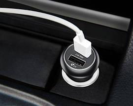 Автомобильное зарядное устройство Baseus CCALL-GC01 Gentry series Dual-U QC3.0 18W (Черное, два USB-порта), фото 3