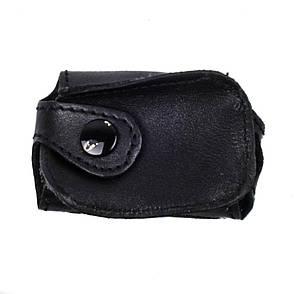 Кожаный чехол Valenta для брелока Davinci 300/377 Черный (РК441), фото 2