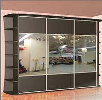 Шкаф купе 3х-дверный ширина 2400 мм, глубина 600мм, высота 2100мм. Одесса, фото 1