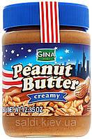 """Арахисовая паста """"Gina Peanut Butter"""" Creamy 350g Австрия"""