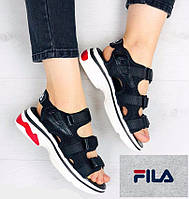 Женские босоножки на платформе Fila. Сандалии женские в стиле Фила Disruptor