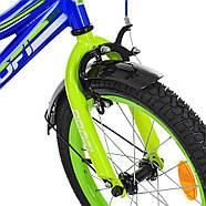 Детский велосипед детский 16 дюймов PROF1 Y16102 Top Grade Гарантия качества Быстрая доставка, фото 3