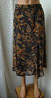 Юбка женская легкая летняя вискоза макси бренд Gelco р.48, фото 1