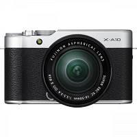 Цифровой фотоаппарат Fujifilm X-A10 XC 16-50mm Kit Silver (16534352)