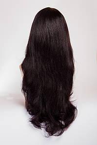 Длинный волнистый парик №6,цвет баклажан
