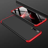 Чохол GKK 360 для Samsung Galaxy A50 2019 / A505 Бампер оригінальний Black-Red