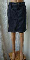 Юбка женская джинсовая джинс карандаш миди р.46-48 от Chek-Anka