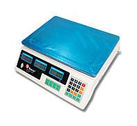 ✅ Продуктовые электронные весы для торговли для магазина Domotec (MS-218) точные товарные весы