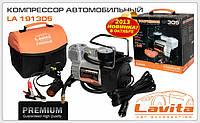 Автомобильный компрессор LA191305 12В, 15А, 10 атм, 37Л/мин