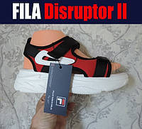 Женские босоножки Fila. Спортивные сандалии в стиле Fila Disruptor.