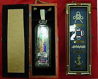 """Футляр для бутылки """"Морской""""  (35х13х11,5 см)(35613C)"""